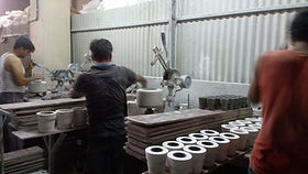 Pottery manufacturing unit