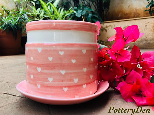 clay pots, crockery, hand painted crockery, hand painted pottery