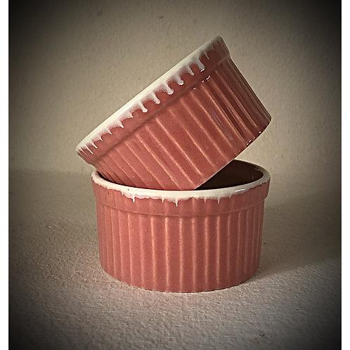 Powder Pink Ramekin  (Set of 2)