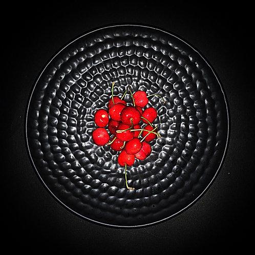 Classic Matte Black Handmade Platter