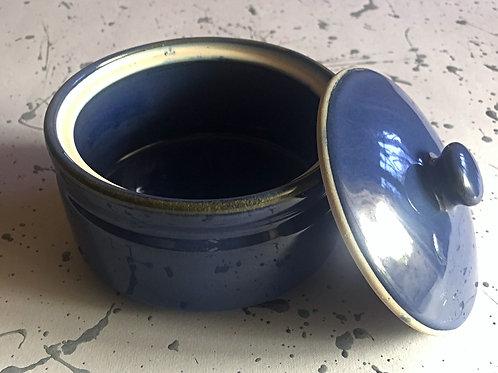 Blue Curd Pot (Small)