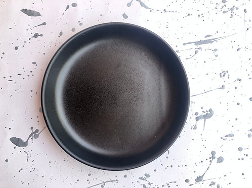 Little Black Matt Blate - Mixed of Bowl and Plate