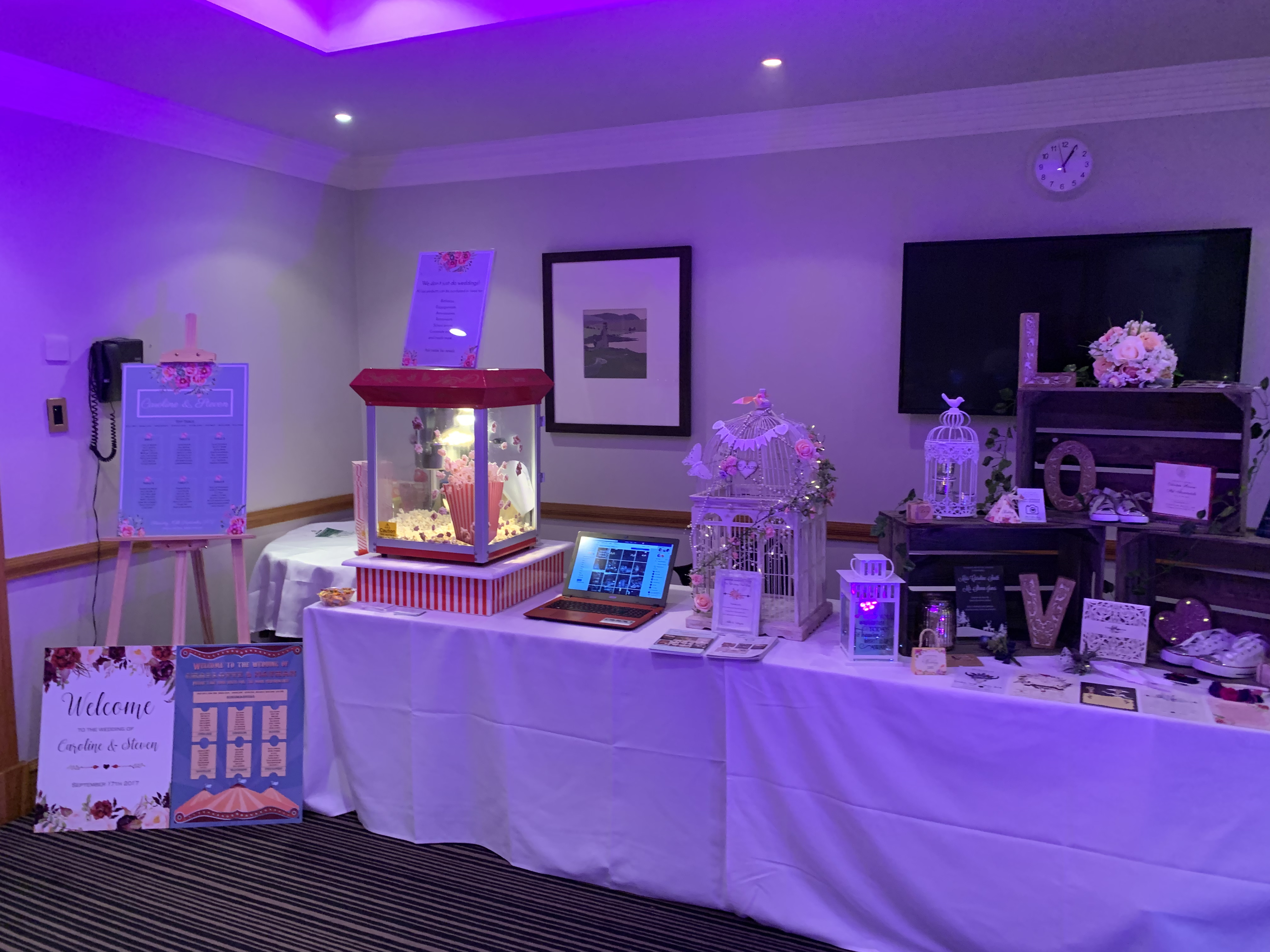 Doubletree Dundee display