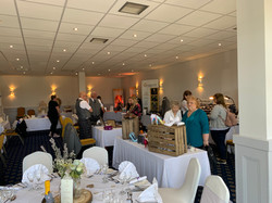 Links Hotel wedding fair set up