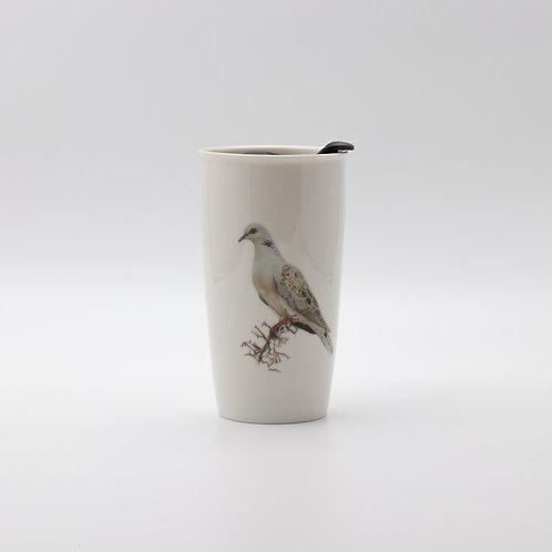 Turtle Dove Travel mug  ספל דרך תור מצוי