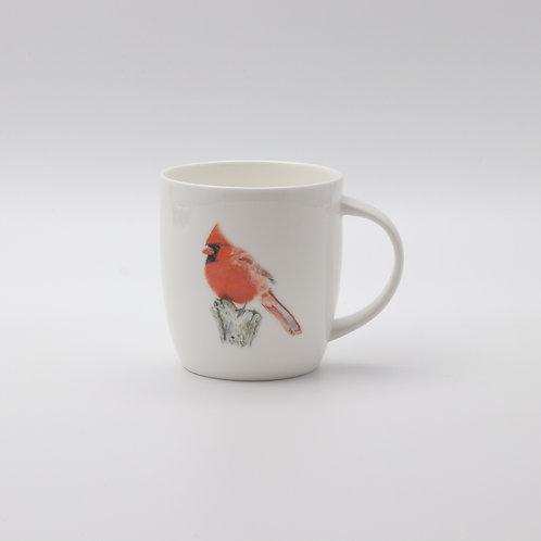 Northern Cardinal mug   ספל קרדינל צפוני