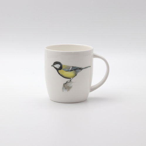 Great Tit mug  ספל ירגזי מצוי