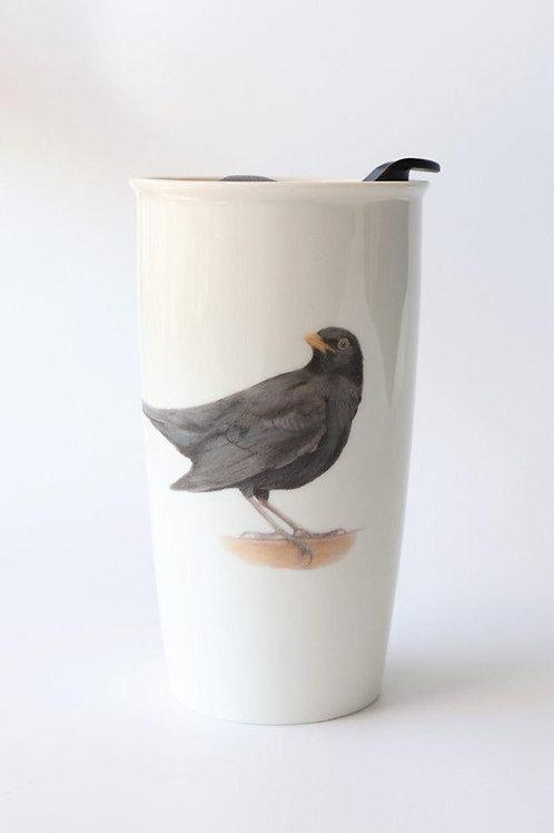 Blackbird Travel mug  ספל דרך שחרור