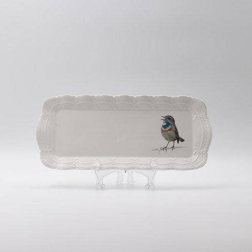 Bluethroat Platter  מגש כחול החזה