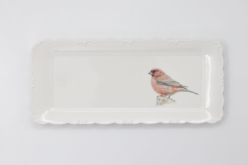 Rosefinch Platter   מגש ורדית סיני