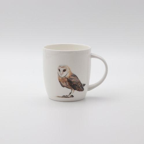 Barn owl mug ספל תנשמת