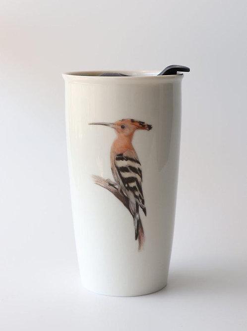 Hoopoe Travel mug  ספל דרך דוכיפת