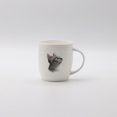 Cat portrait mug    ספל דיוקן חתול