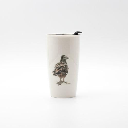 Egyptian Vulture Travel mug  ספל דרך רחם מדברי