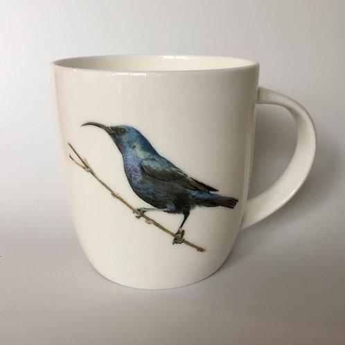 Palestine Sunbird, male, mug  ספל צופית זכר