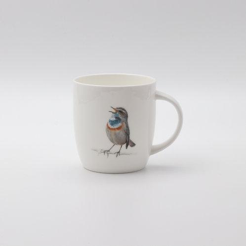 Bluethroat  mug  ספל כחול החזה