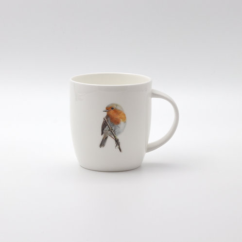 European Robin mug ספל אדום החזה