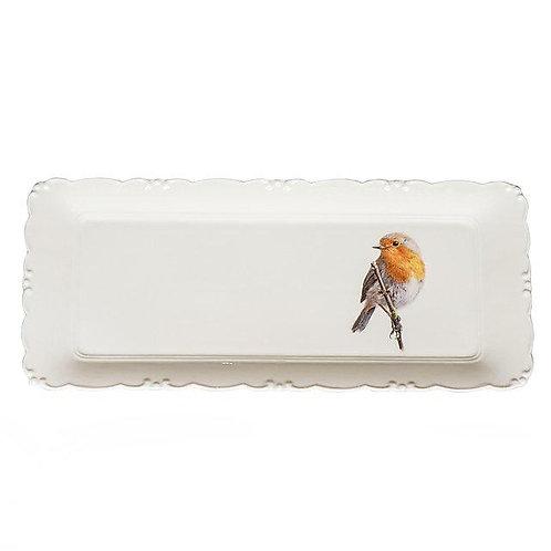 European Robin platter  מגש אדום החזה