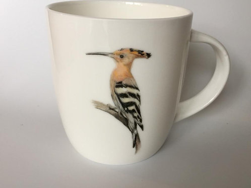 Hoopoe mug ספל דוכיפת