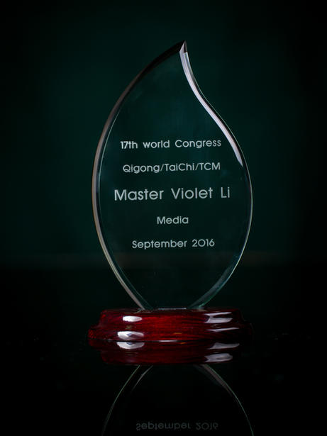 Best Media Award, 17th World Congress on Qigong, Tai Chi & Traditional Chinese Medicine, 2016 San Francisco, California, USA