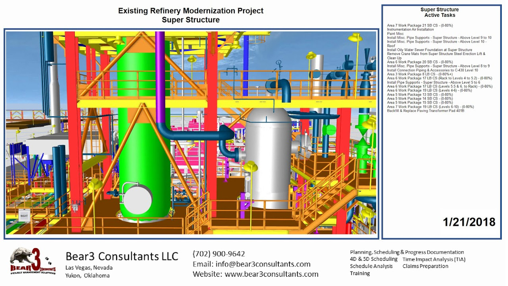 Existing Refinery Super Structure
