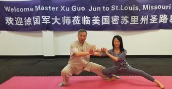 Played Tai Chi Push Hands with Master Xu