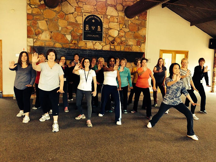 Teaching at Women_s Wellness Weekend .jp