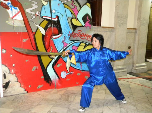 Performing Tai Chi at the City Hall.jpg