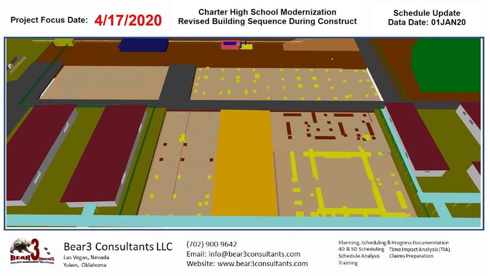 High School Modernization Resequence as of 01JAN20
