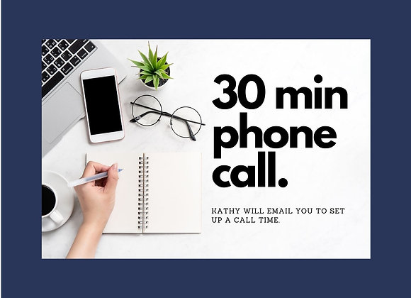 I just need to talk for 30 mins!