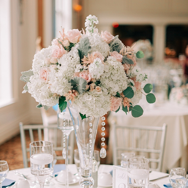 High Style  Centerpieces