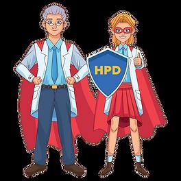 Health Plan Depot - Character (girl on r