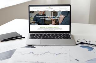 Designs In Dentistry Website // Branding // Logo