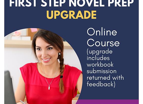Upgrade: First Step Novel Prep Online Course