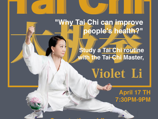 Event: Why Tai Chi Improves Your Health!