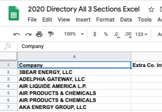 2020 ALL THREE (Pipeline Companies, Contractors, Suppliers)