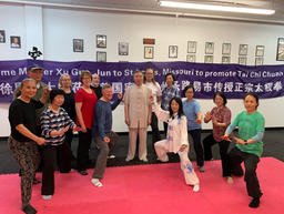 Hosted a Tai Chi Workshop for Master Xu