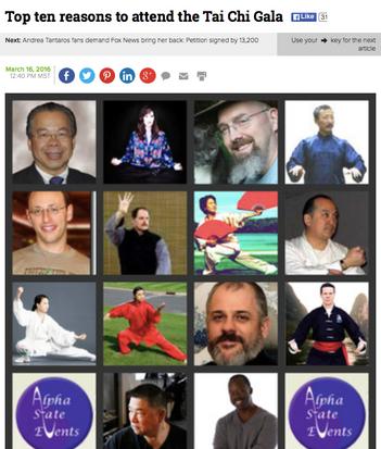 Invited to teach at Tai Chi Gala