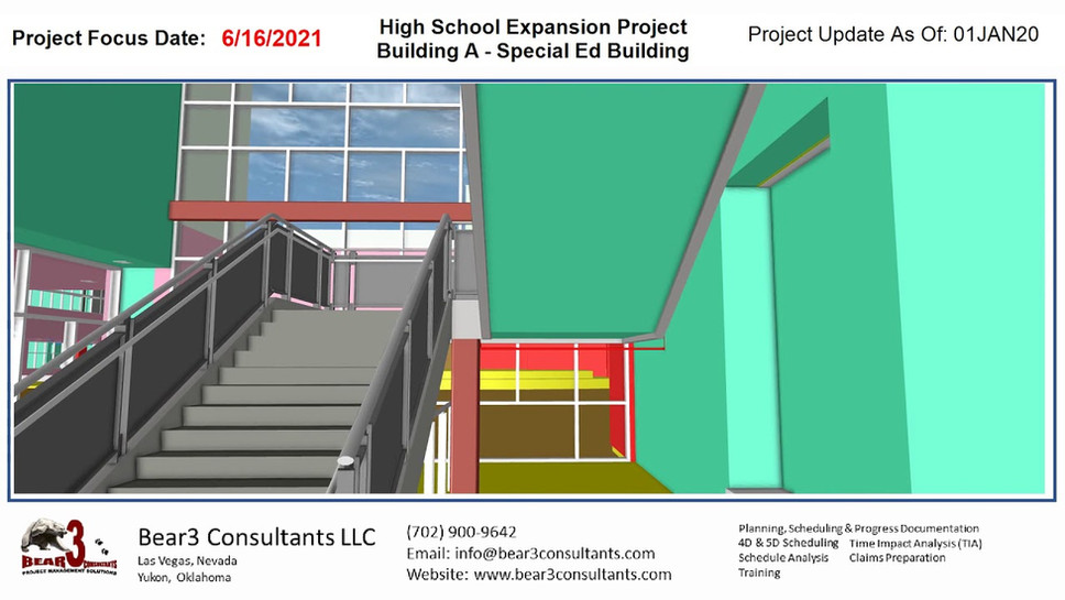 High School Expansion Project - Building A as of 01JAN20