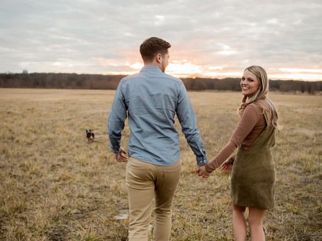 Morgan + Chance Engagement Session   Shelby Farms Park   Memphis Wedding and Engagement Photographer