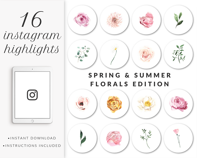 Instagram Highlights: Spring and Summer Florals Edition