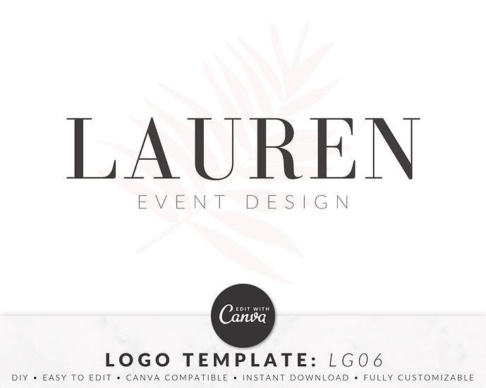 Logo Template - LG06