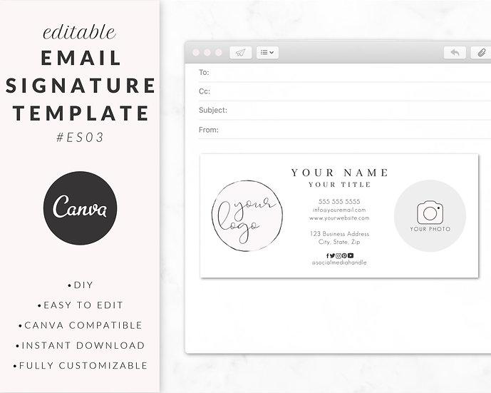 Email Signature Template - ES03