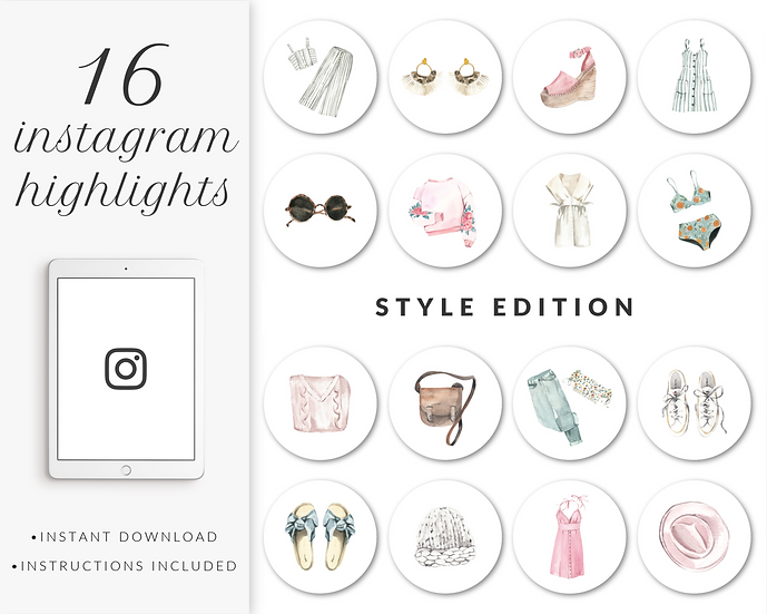 Instagram Highlights: Style Edition