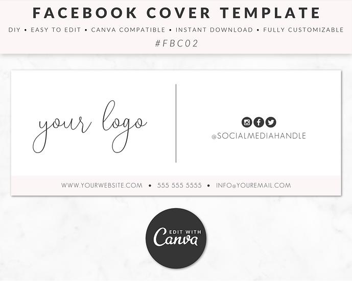Facebook Cover Template - FBC02