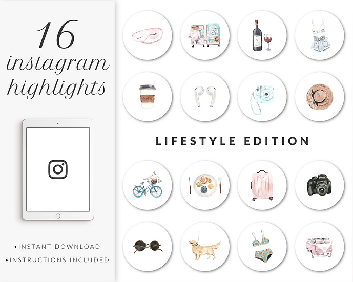Instagram Highlights: Lifestyle Edition