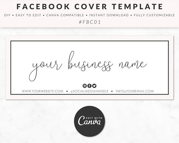 Facebook Cover Template - FBC01