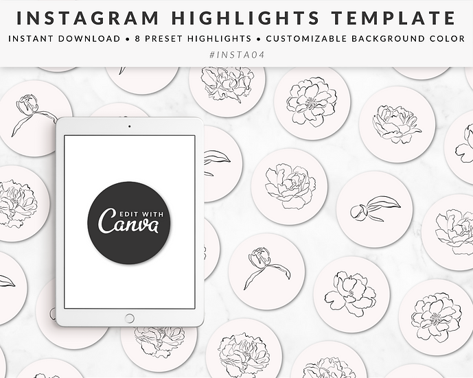 Instagram Story Highlights Template - INSTA04