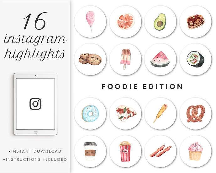 Instagram Highlights: Foodie Edition