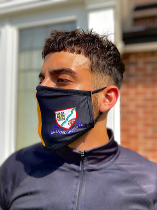 BUFC GOLD/BLACK LAYERED FACE MASK WAS £6